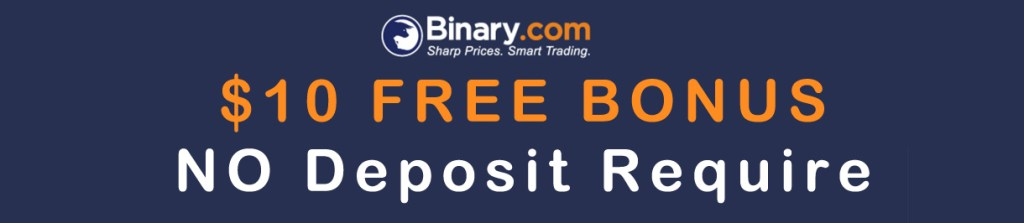 Binary - $10 Options No Deposit Bonus